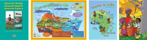 Water Cycle Poster, Kids Booklets and Educator's Guide